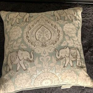 Pier 1 Embellished Elephant Pillow